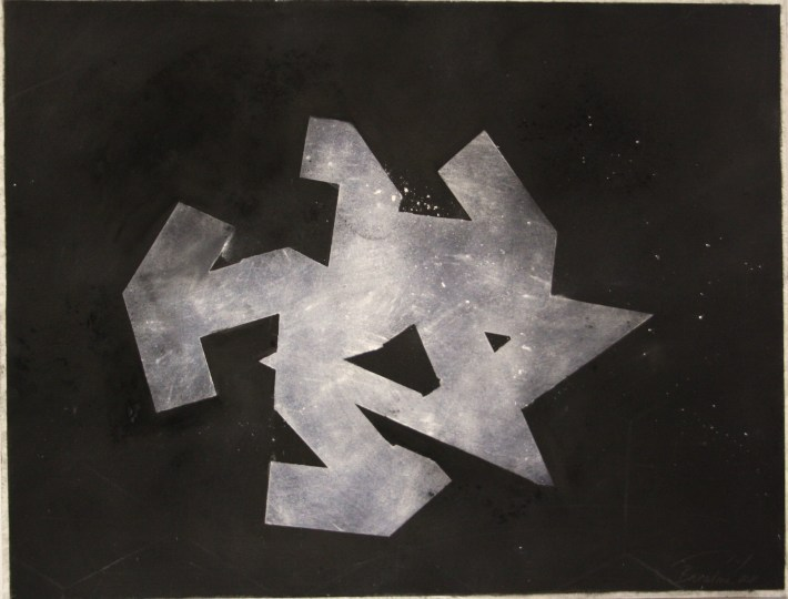 geometric space, 70 x 100 cm. charcoal on paper (7)