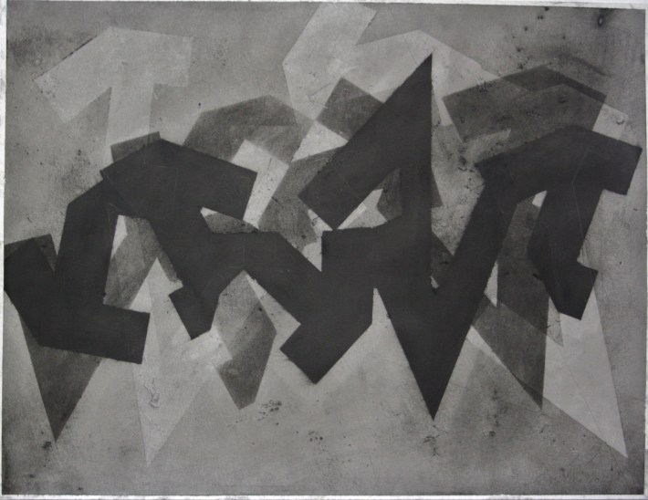 geometric space,70 x 100 cm. charcoal on paper (5)