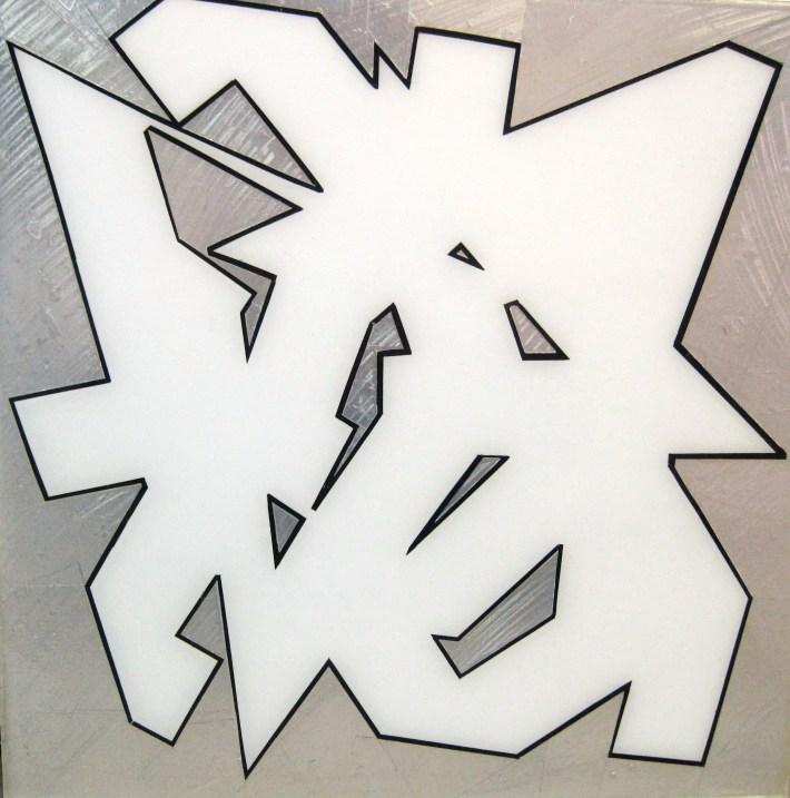 kubikoide,40 x 40 cm. bcn 2010
