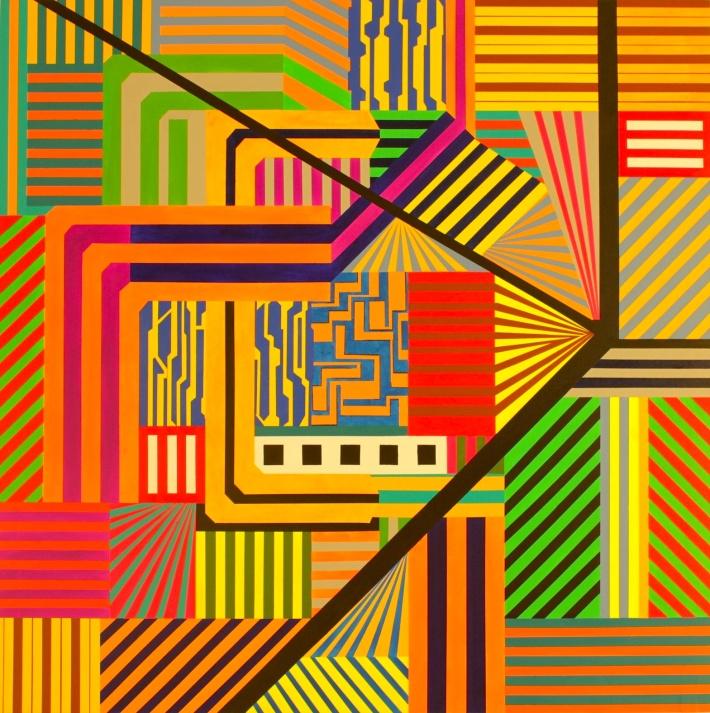 _Barcelona II_150 x 150 cm. acrilico sobre tela,bcn 2014
