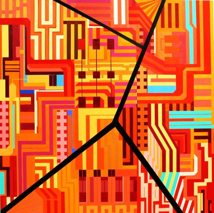 mr011215,120 x120 cm.acrilico sobre tela,bcn2015